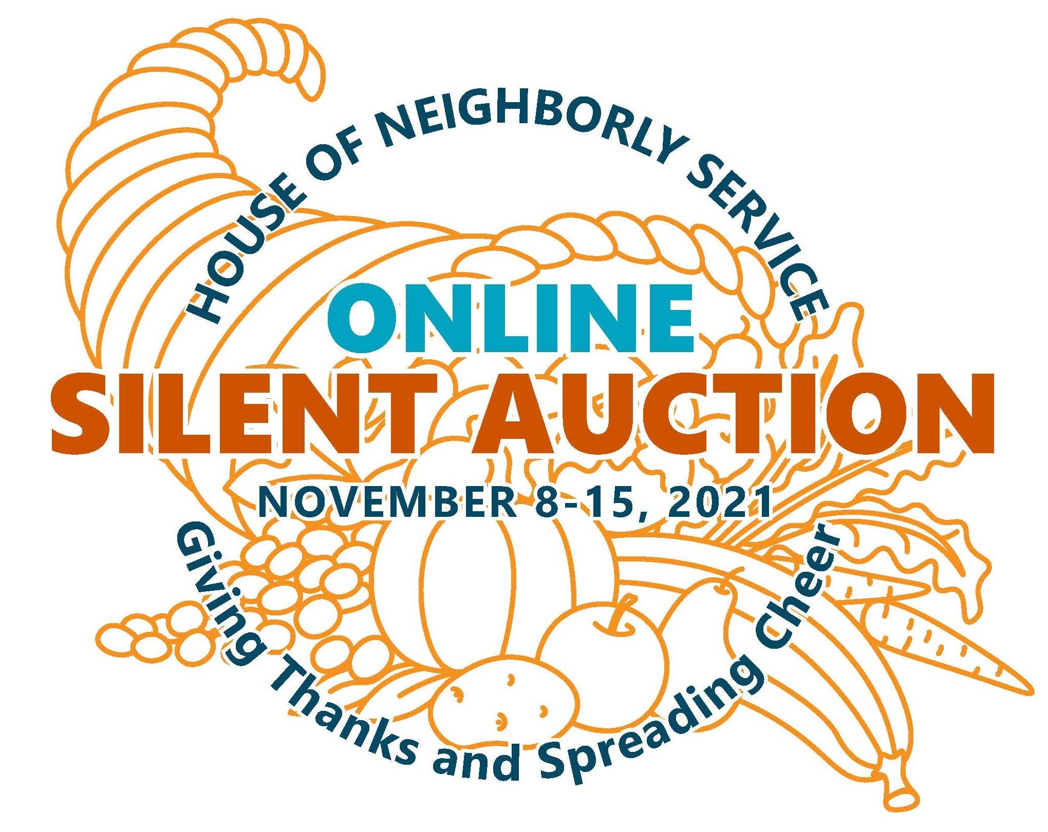 Online Silent Auction November 8-15, 2021